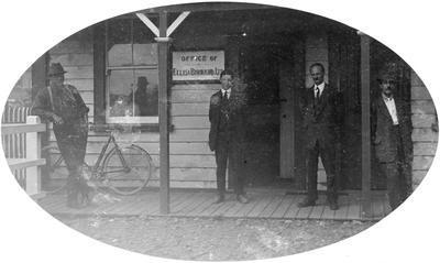 Manunui - Ellis & Burnand office