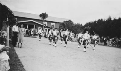 Pipeband at Turangawaewae