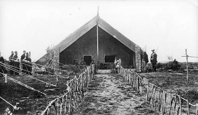King Matutaera's whare in Ngaruawahia