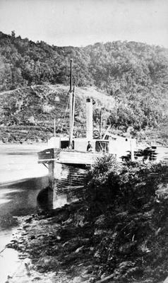 Paddle Steamer 'Waikato'