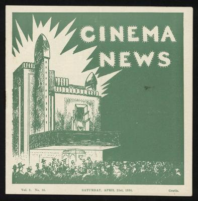 Cinema News vol.2 no.16