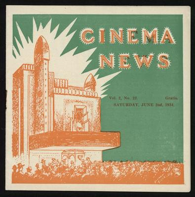 Cinema News vol.2 no.22