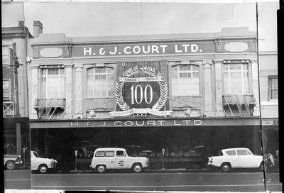 Victoria Street south - shop H & J Court Ltd