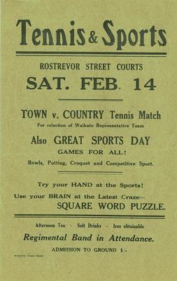 Tennis & Sports day