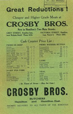 Crosby Bros.