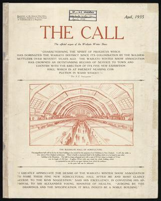 The Call. April 1935.