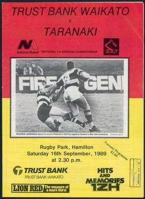 Trustbank Waikato v Taranaki