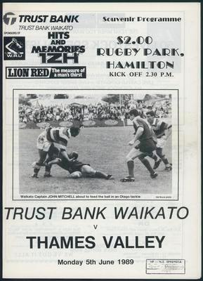 Trustbank Waikato v Thames Valley