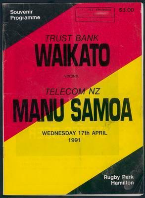 Waikato v Manu Samoa
