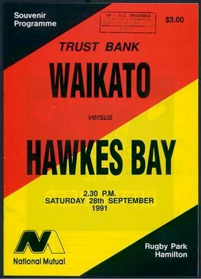 Waikato v Hawkes Bay