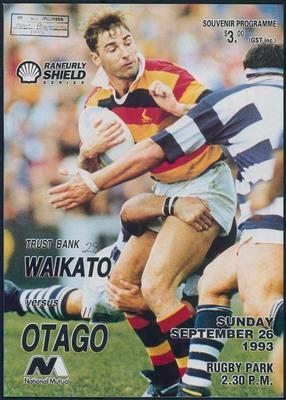 Waikato versus Otago