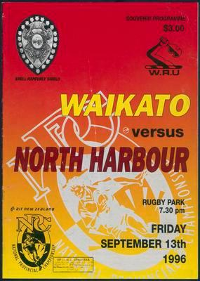 Waikato versus North Harbour
