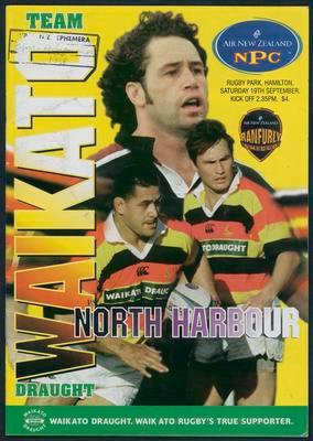 Team Waikato Draught vs North Harbour