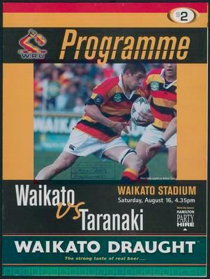 Waikato vs Taranaki