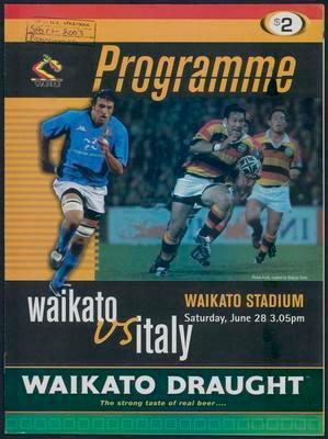 Waikato vs Italy