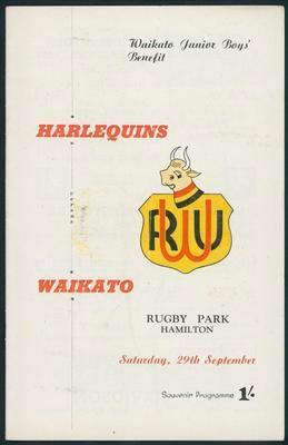 Harlequins v Waikato