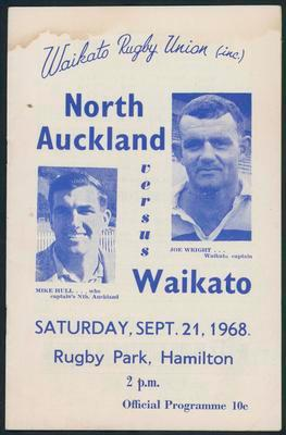 North Auckland v Waikato