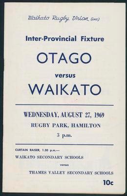 Otago v Waikato