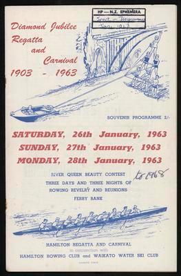 Diamond Jubilee Regatta and Carnival 1903-1963