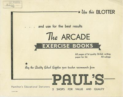 Paul's Book Arcade Christmas leaflet