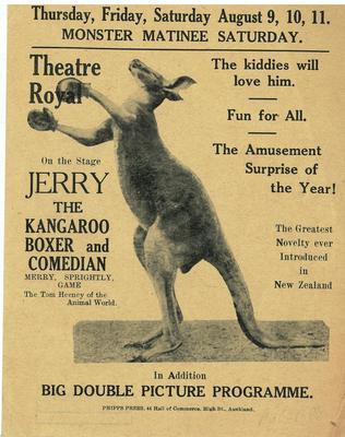 Jerry the Kangaroo Boxer and Comedian