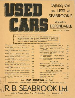 Seabrook's Used Cars