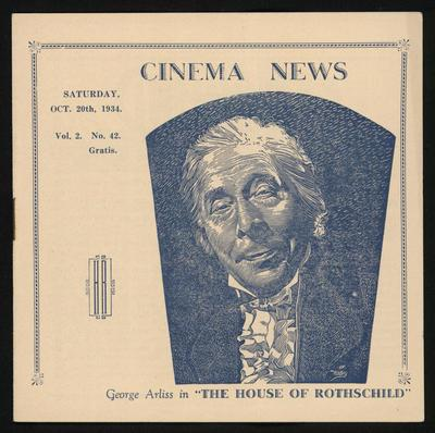 Cinema News, Oct 20th 1934