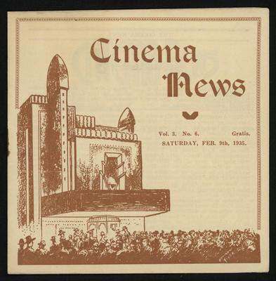 Cinema News, Feb 9th 1935