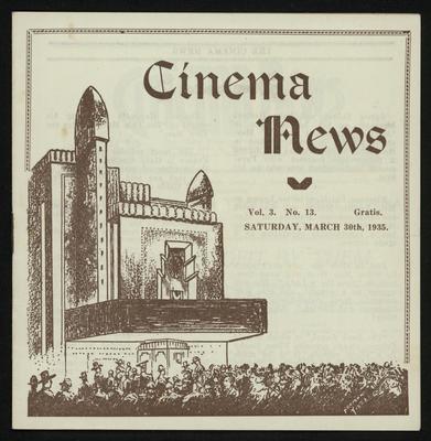 Cinema News, Mar 30th 1935