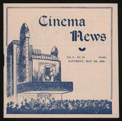 Cinema News, May 4th 1935