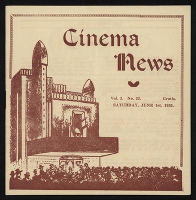 Cinema News, Jun 1st 1935