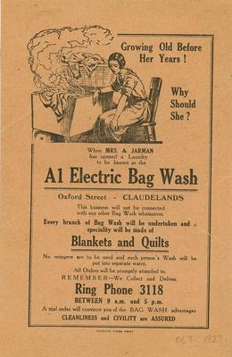 A1 Electric Bag Wash
