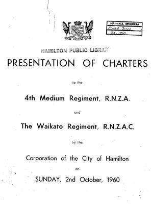 Freedom of the City of Hamilton
