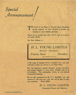 H.L. Young Limited