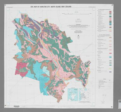 Soil Map of Hamilton City