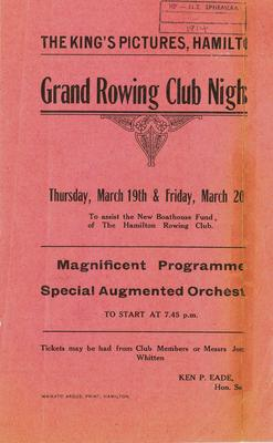 Grand Rowing Club Night