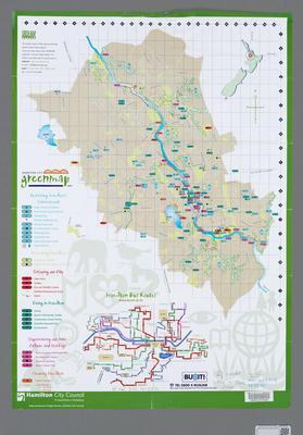 Hamilton City Green Map