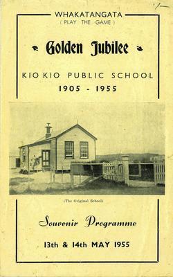 Golden Jubilee. Kio Kio Public School