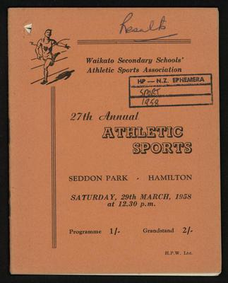 27th Annual Athletic Sports
