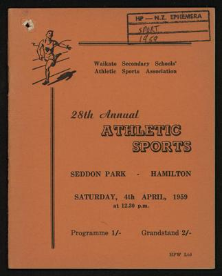 28th Annual Athletic Sports