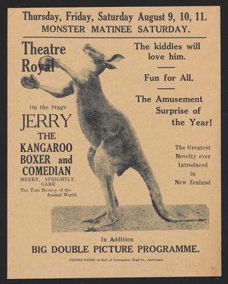 Jerry the Kangaroo Boxer and Comedian