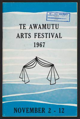 Te Awamutu Arts Festival 1967