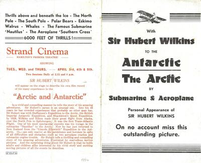 With Sir Hubert Wilkins to the Arctic and Antarctic