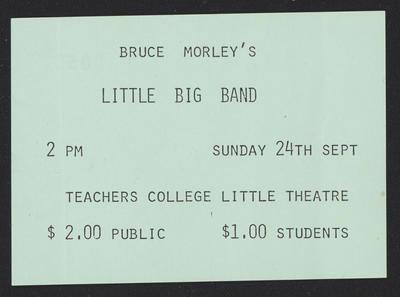 Bruce Morley's Little Big Band