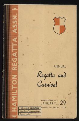 Annual Regatta and Carnival