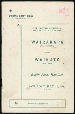 Wairarapa versus Waikato