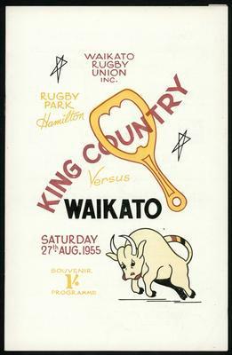 King Country versus Waikato