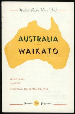 Australia vs Waikato
