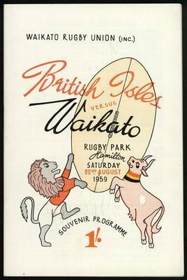 British Isles vs Waikato