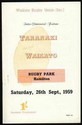 Taranaki vs Waikato